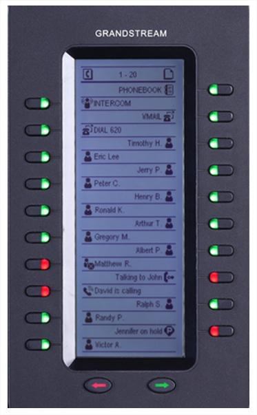Module extension GXP2200EXT pour le téléphone VoIP grandstream GXP2200