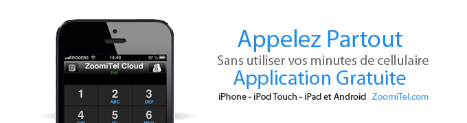 Application de téléphonie gratuite iPhone et Android