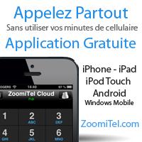 Application de téléphonie gratuite pour iPhone et Android