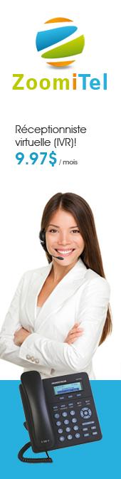 ATéléphonie d'affaires et réceptionniste virtuelle
