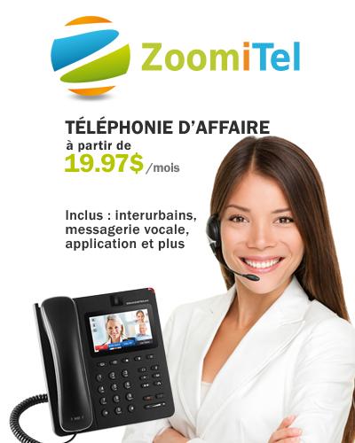 Téléphonie d'affaires et pour entreprises